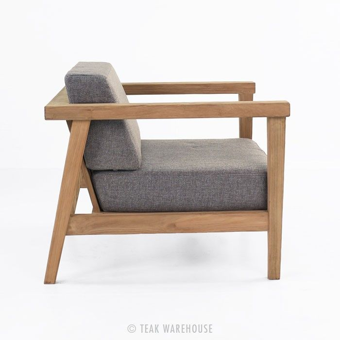 Copenhague Reclaimed Teak Club Chair - Teak Deep Seating - Deep Seating Collections