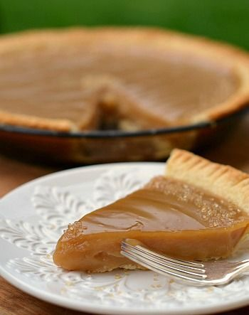 Canadian Maple Syrup Pie. The look of this pie reminds me of the maple syrup pies I used to indulge in when I was working in Quebec city during 2 summers while at Uni. They often served it with whipped cream ~ totally decadent and impossible to resist! I was addicted to this incredible treat... will have to try this recipe to see if it's the same as the wonderful pies I remember ~ Epi