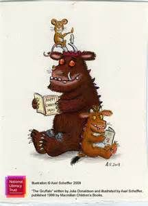 gruffalo characters reading a book - Bing Images