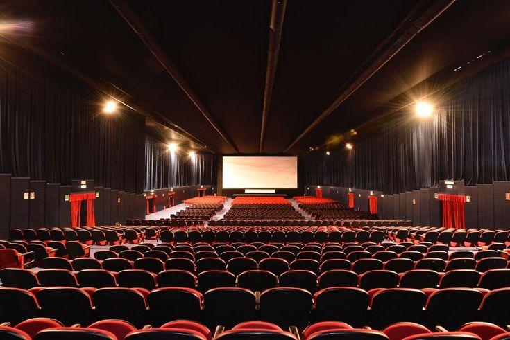 Allestimento per la 72a edizione della Mostra del Cinema di Venezia
