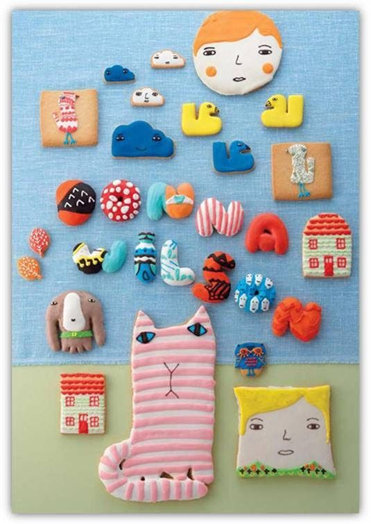 Donna Wilson cookies for Isetan, Japan. Aren't they just adorable!