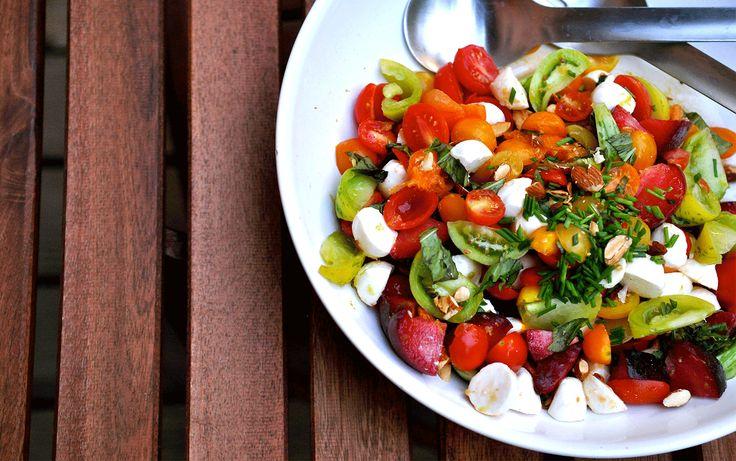 Unexpected Stone Fruit Salad