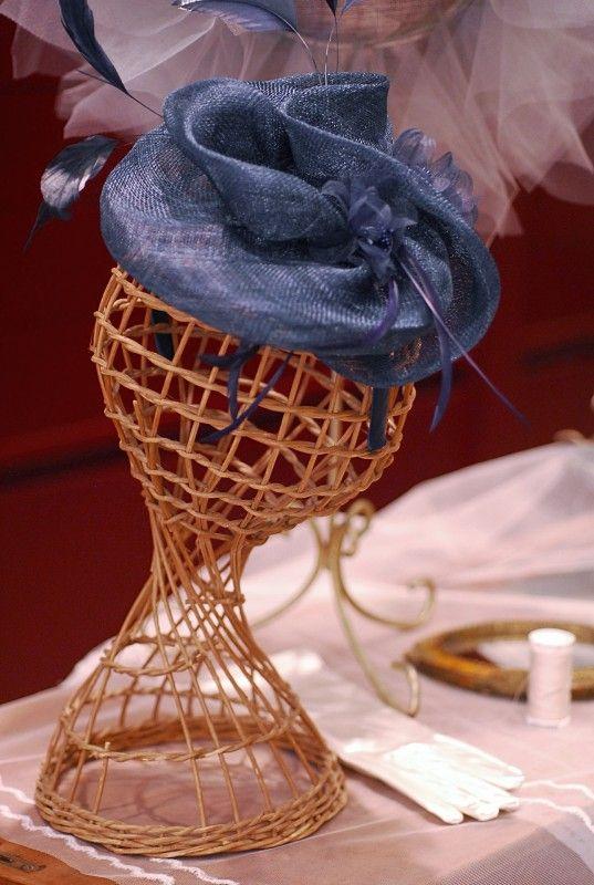 """Modello """"Victoria"""" #creazioni #hats #matrimonio #sposa #cerimonie #cappello"""