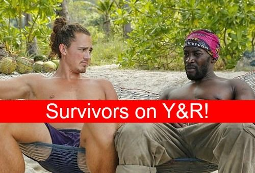 """The Young and the Restless"" spoilers tease ""Survivor: Second Chances"" castaways Joe Anglim and Jeremy Collins will appear on the CBS soap..."