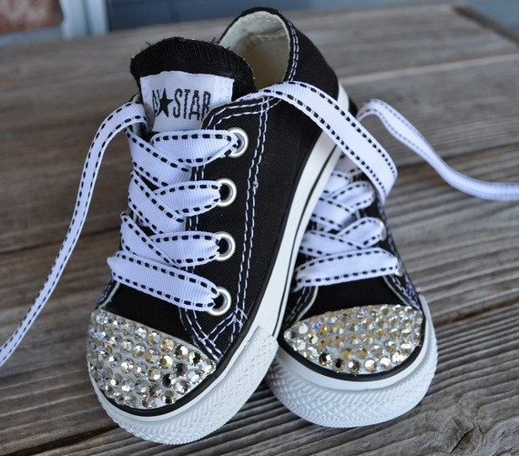 Chuck Taylor Princess Bling.