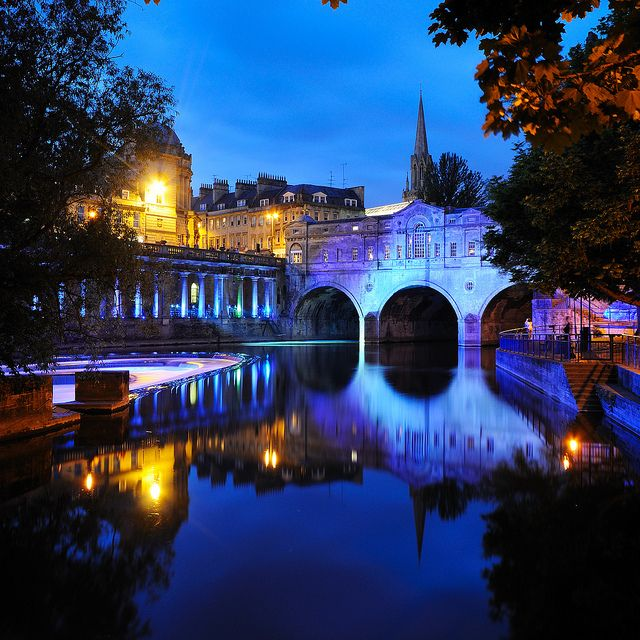 Pulteney Weir, Bath, England: England, Favorite Places, Late Night, Beautiful Places, Bath, Places I D, Travel, Photo