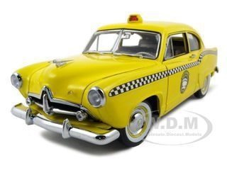 diecastmodelswholesale - 1951 Kaiser Henry J Taxi 1 of 999 Made Platinum Edition 1/18 Diecast Car Model by Sunstar, $59.99 (http://www.diecastmodelswholesale.com/1951-kaiser-henry-j-taxi-1-of-999-made-platinum-edition-1-18-diecast-car-model-by-sunstar/)