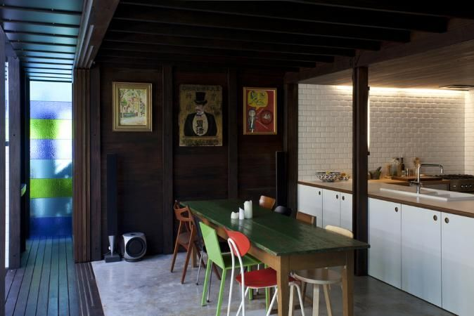 Design Practice  James Russell Architect Pty Ltd: Interior Design, Colour, Grand Designs, Architect Pty, Raven Street, Colorful Kitchens, Design Practice