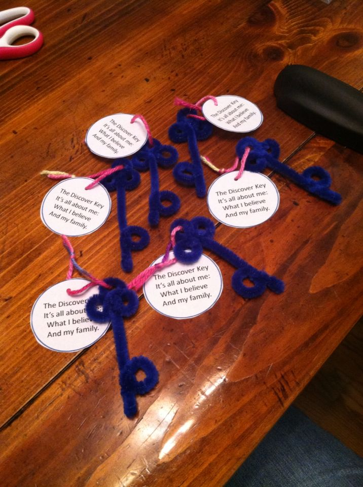 So Brownie parents don't seem to like when you send home one patch at a time, BUT Brownies love instant gratification... So here are my pipe cleaner Discover Keys that I will hand out for the first part of Brownie Quest Journey.