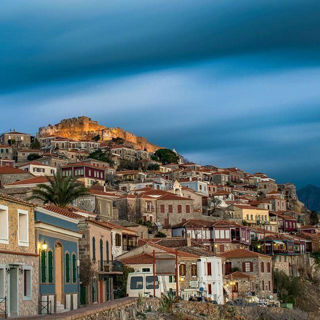 Molivos, Lesvos, Greece....  #lesvos #greece @giannis_gougoul