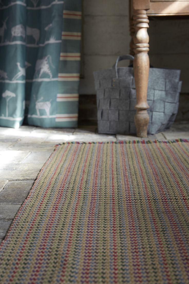 Rainbow Rug/ Runner - Solva Woollen Mill - Vanessa Arbuthnott