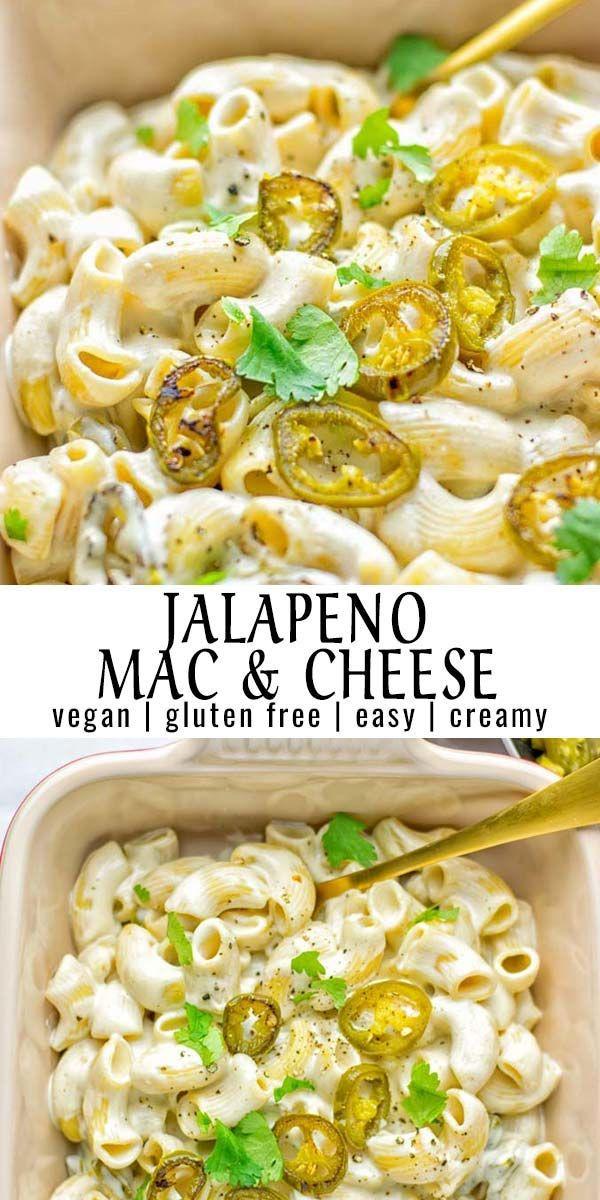 Dieser Jalapeno Mac & Cheese ist super einfach zuzubereiten und in 15 Minuten auf dem Tablett …