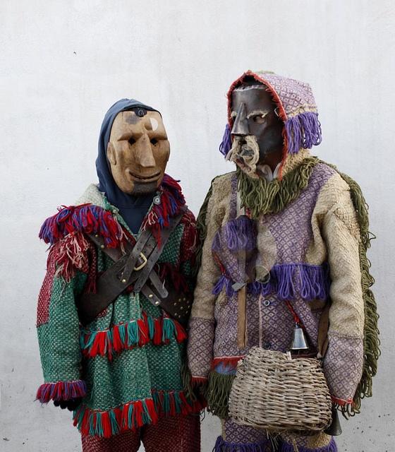 Caretos de Ousilhão (Tras Os Montes ) Bragança by carlos gonzález ximénez, via Flickr