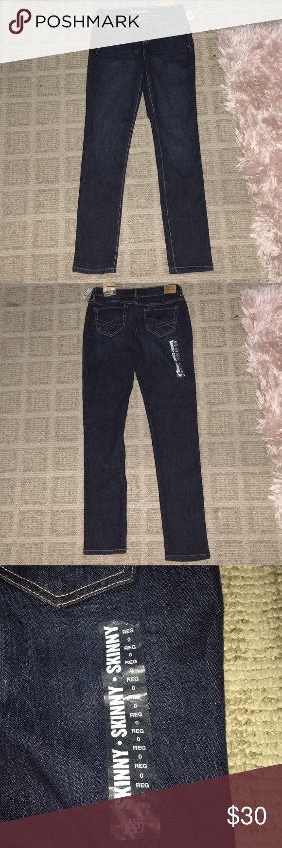 Aeropostale skinny jeans Dark wash skinny jeans Aeropostale Pants Skinny