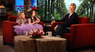 If you need to smile... watch Sophia Grace and Rosie on Ellen.  I would watch any red carpet interview if it looked like this... pure joy.