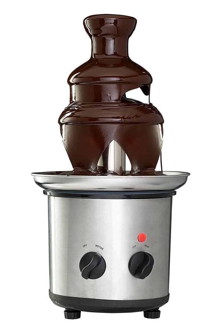 15 must see chocolate fountain machine pins chocolate fountain bar chocolate fondue bar and. Black Bedroom Furniture Sets. Home Design Ideas