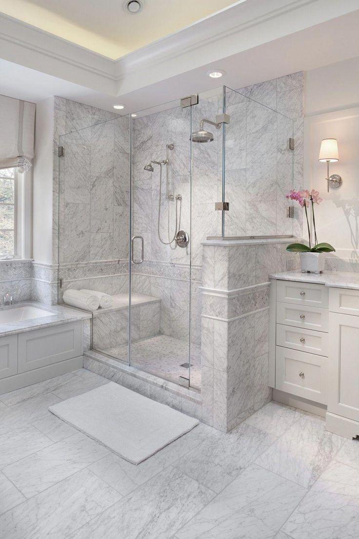 45 lovely master bathroom remodel ideas 35