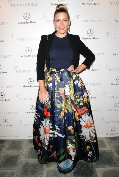 Busy Philips at the Art of Elysium's 7th Annual HEAVEN Gala. Styling by Kemal & Karla.