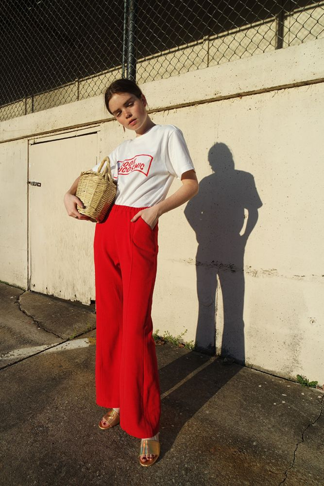 Reese Blutstein: I am loving red recentlyand have been incorporating it into all my outfits.