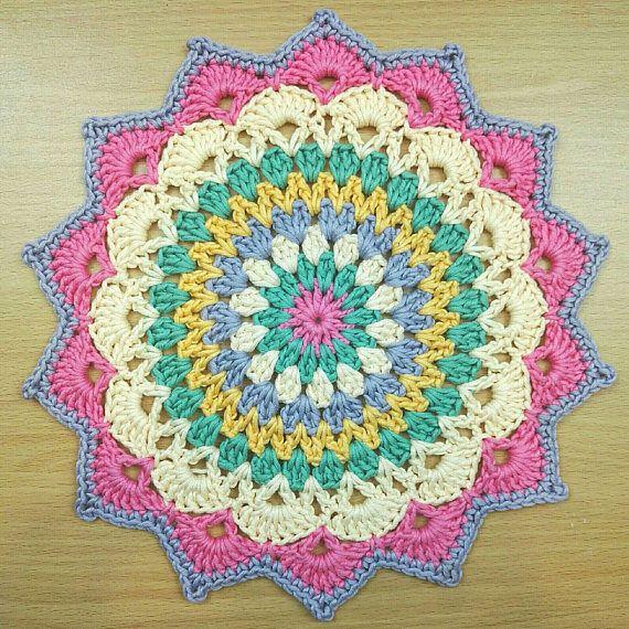 Mandala algodón Mandala Mandala tapete mantel posavasos de