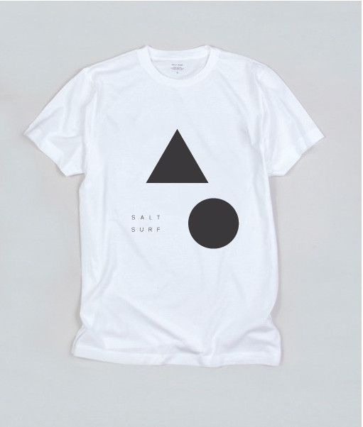 Shapes Tee- White