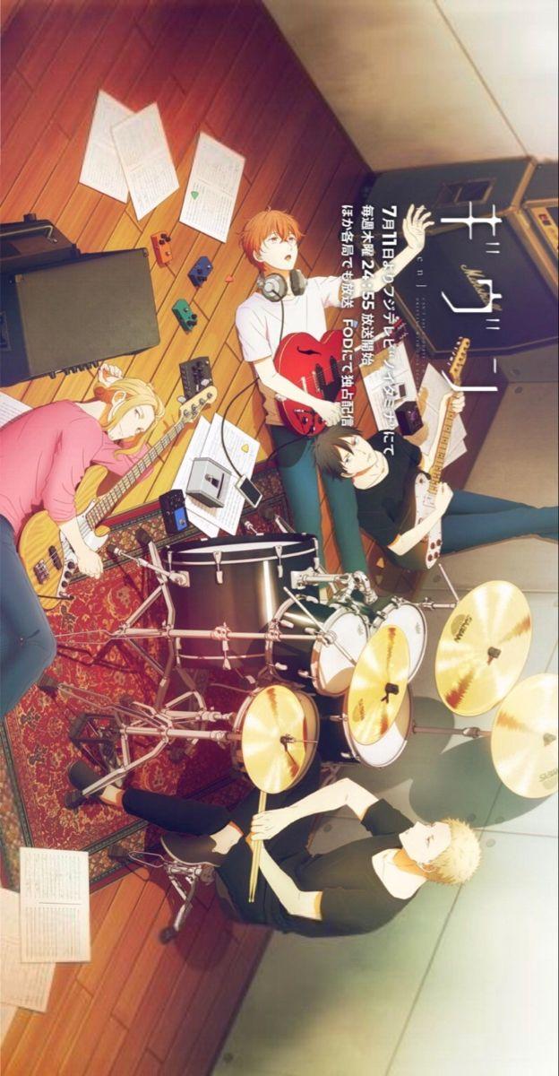 Given Anime Poster Anime Otaku Anime Anime Background