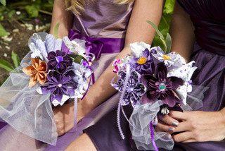 Origami Wedding Bouquets