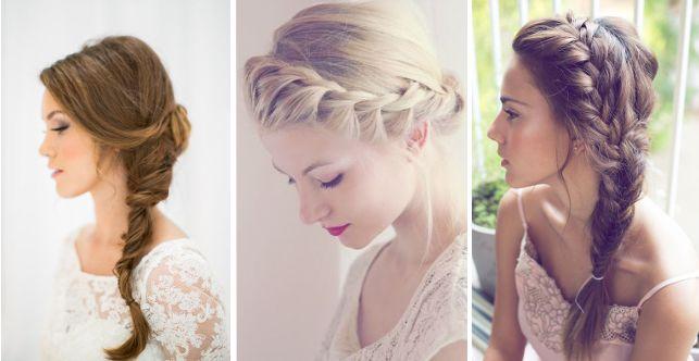 3 simple look for the wedding day 3 semplici pettinature per il giorno del matrimonio