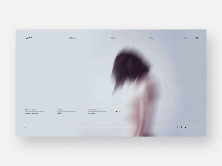AgXXI Website #4 by Diana Polar - Dribbble