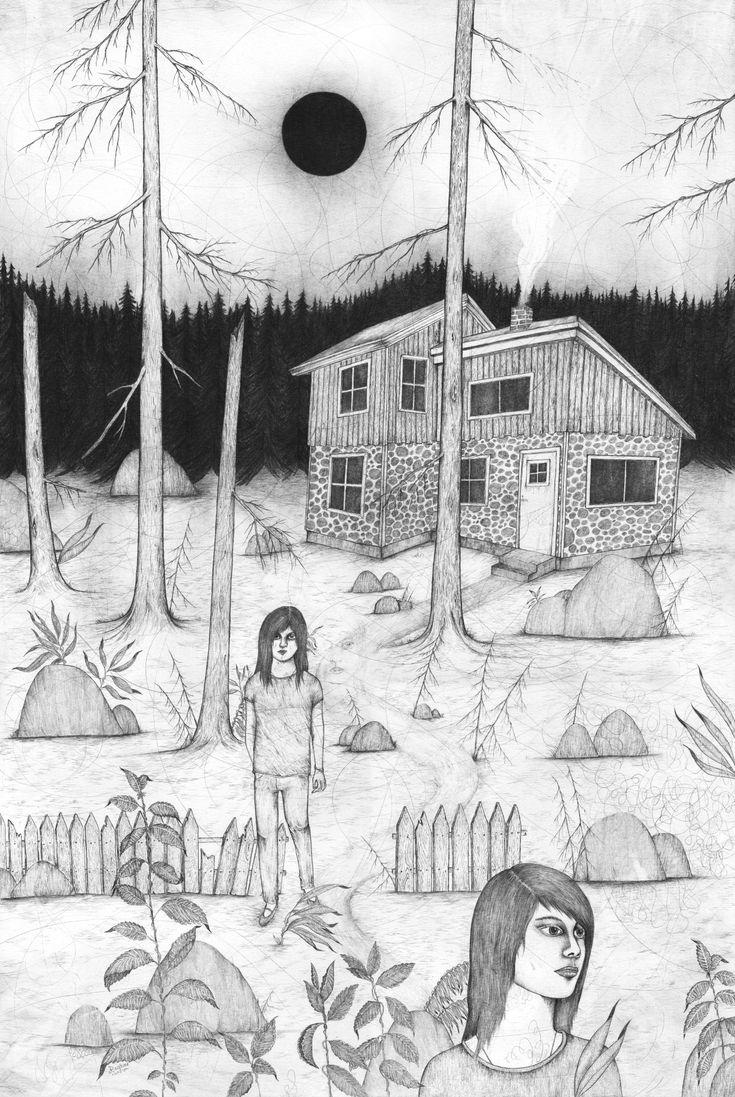 """RAGNAR PERSSON - """"nightwalk"""".   Laut Ragnar Persson wird jeder, der eine Reise in die Wälder Nordschwedens unternimmt und dort in der Mitternachtssonne einen Spaziergang macht, sein Bild voll und ganz begreifen. """"Die Stille und Ruhe, die dort herrschen, als würde der Wald schlafen, und dann die frische Luft, vielleicht ein leichter Nebel, der aufkommt. Und das alles bei Tageslicht. Als würde die Natur schlafen, aber ein Auge offen lassen""""."""