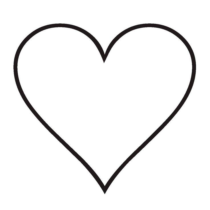 Стену, картинки сердечек для вырезания