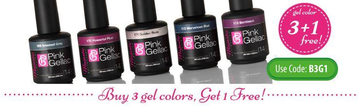 Gelly Sandwich Manicure:  Regular nail polish in between gel base coat and gel top coat