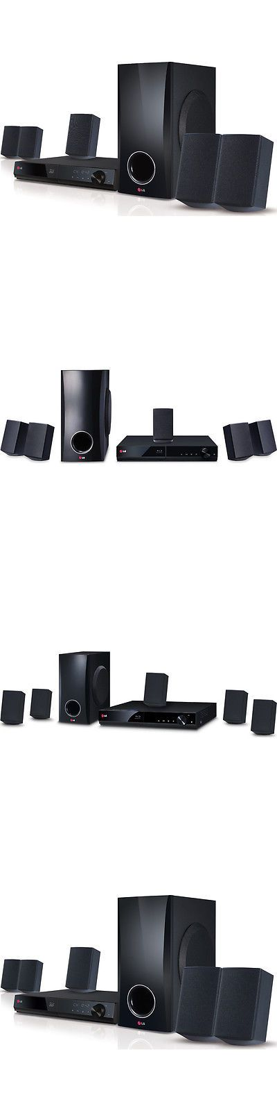 Home Theater Systems: Lg Bh5140s 3D Capable 500W 5.1Ch Blu-Ray Disc Home Theater System -> BUY IT NOW ONLY: $170 on eBay!
