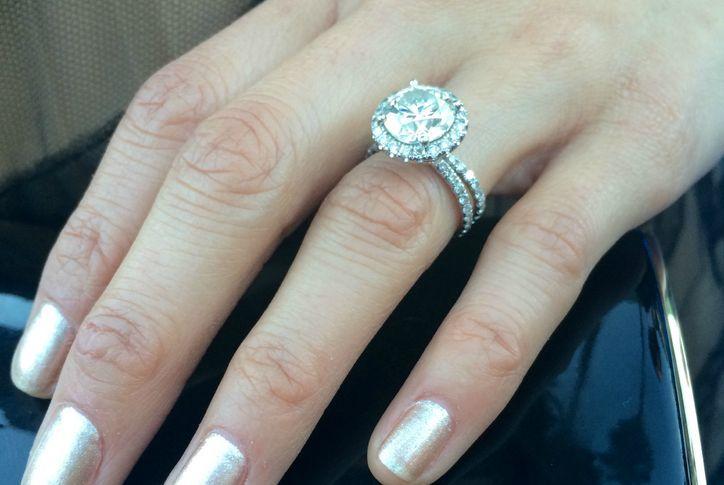 Jamie Chung's engagement ring