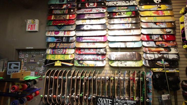 Custom Skateboard Build at West 49 Ottawa, Bayshore Centre  https://youtu.be/xgSHYdsj5A0 #skateboards #customskateboards
