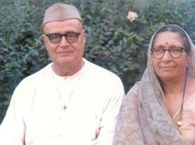 Gopi Krishna and his wife.