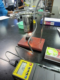 a lab experiment on bomb calorimetry Calorimetry virtual labdocx for the calorimetry lab i tell students to make sure that then they go through doing the experiment and calculations to.