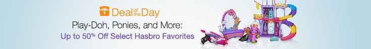 Up To 50% Off Hasbro Toys (My Little Pony, Nerf, Play-Doh, and More)!