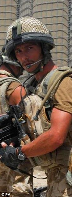 Killed in action: Private Jason Lee Rawston, from the 2nd Battalion, the Parachute Regiment, died in Afghanistan
