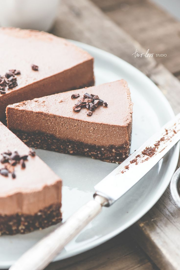 raw paleo chocOlate torte