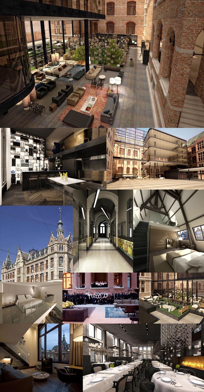 O novo hotel design de Amsterd, Conservatorium Hotel Amsterdam | Paradises  | Pinterest | Hotel amsterdam, Restaurant design and Spaces