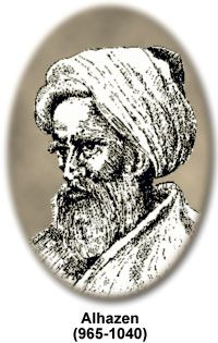 Abu Ali al-Hasan ibn al-Hasan ibn al-Haytham (Alhazen) - is considered to be the first person to test hypotheses with verifiable experiments.  He developed the scientific method more than 200 years before European scholars learned of it—by reading his books.  His book Kitab-al-Manadhirn, on optics,  exerted a great influence on science of the western world, most notably on the work of Roger Bacon and Johannes Kepler.