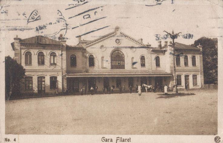 Parcul Carol 1906: Gara Filaret
