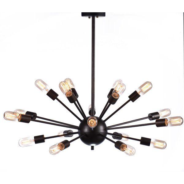 Sputnik Style Chandelier: Olde World 5-Light Crystal Chandelier. Sputnik ChandelierIndustrial Style  ...,Lighting