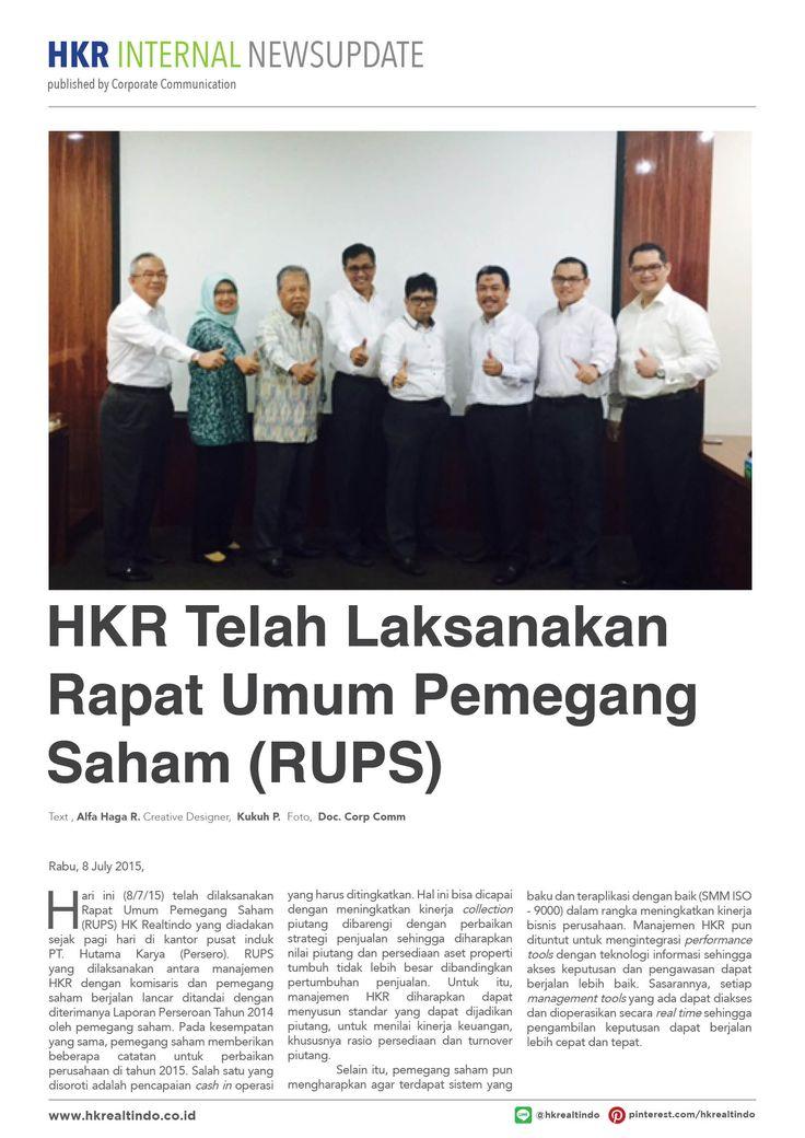 HKR Telah Laksanakan RUPS