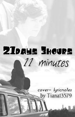 "You should read ""21 days 3 hours 11 minutes"" on #wattpad #fanfiction http://w.tt/1kPvtBJ"