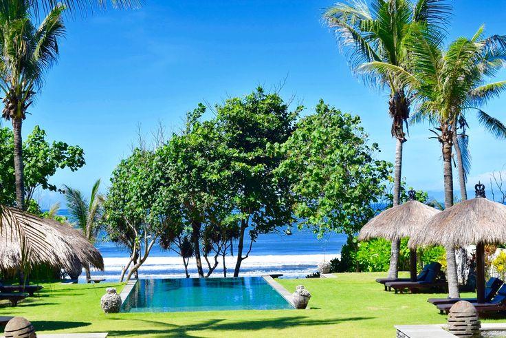 Villa Paradise Beach | 5 bedrooms | Tabanan, Bali #swimmingpool #beachvilla #bali #garden