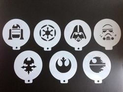 Face Painting - Star Wars Stencils