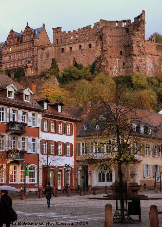 Heidelberg mit Schloß. Ich hab' mein Herz in Heidelberg verloren...