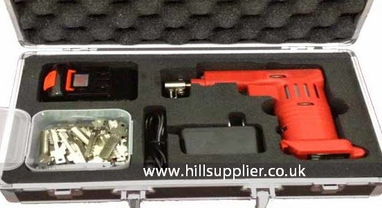Dimple pick gun, dimple lock bypass tools for Mul-T-Lock, and Pladelet locks, like Yardeni, kaba lock picking and bypass tools.   http://www.hillsupplier.co.uk/domestic-picking-tools/kaba-lock-electric-gun